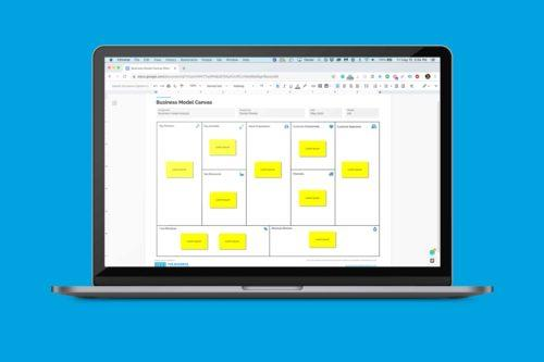 Business Model Canvas Template Google Docs