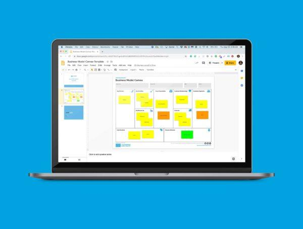 Business Model Canvas Template Google Slides