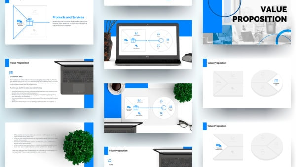 Value Proposition Canvas Template Powerpoint
