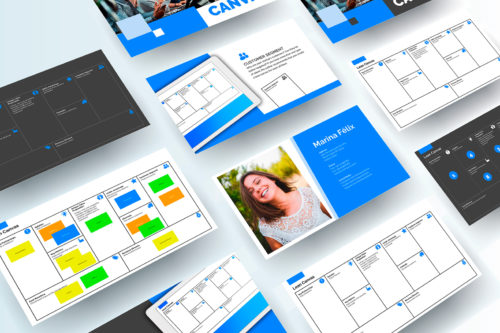 Lean Canvas Presentation Template Powerpoint