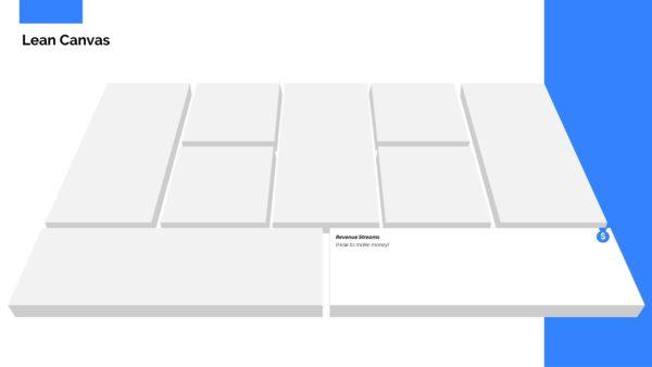 Lean Canvas Presentation Template Powerpoint Slide