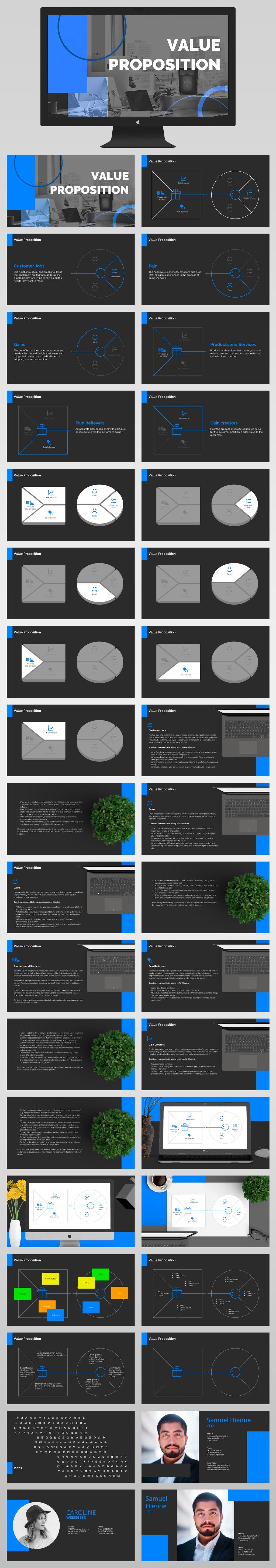 Value Presentation Template Powerpoint All Slides Dar