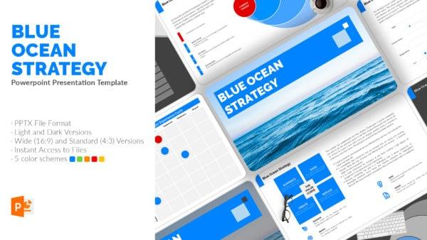Blue Ocean Strategy Presentation Template