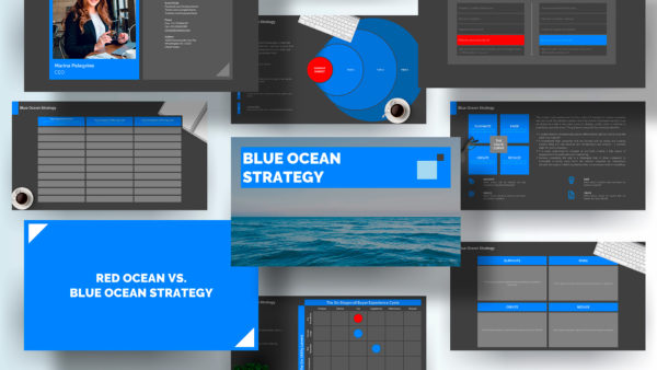 Blue Ocean Strategy Presentation Template